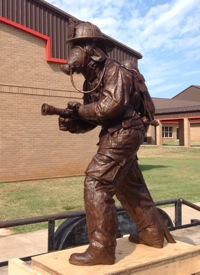 FIREMAN for Cleburne Honor Park